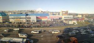 Петропавловск-Камчатский, 8 км, вид на магазин Спутник