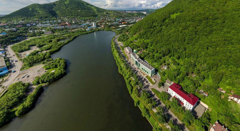 Озеро Култучное в Петропавловске-Камчатском