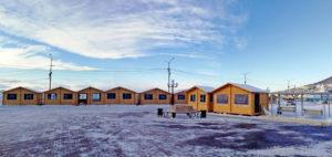 Домики в центре Петропавловска-Камчатского