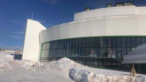 Здание нового театра кукол на Камчатке