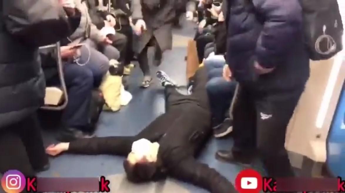 prank metro moscow