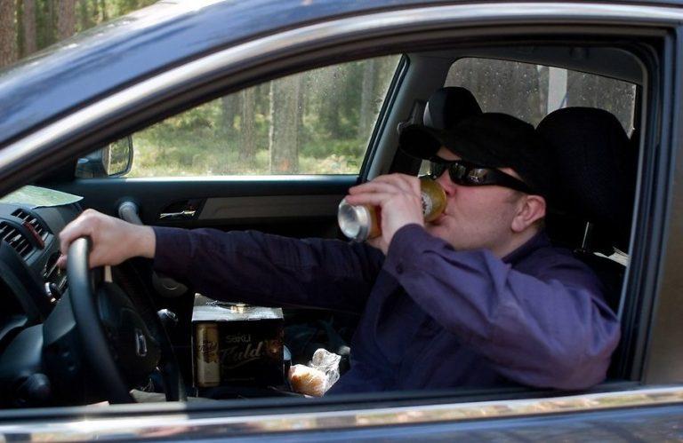 Работодателям сообщат о пьяных сотрудниках за рулем