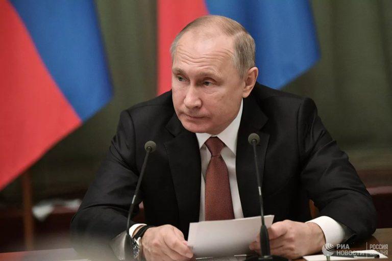 Президент России обратился к стране по ситуации с коронавирусом