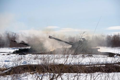 В тактических учениях на Камчатке было задействовано около тысячи военных