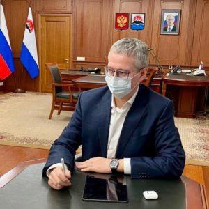 Врио губернатора В.Солодов