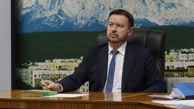 Константин Брызгин вступил в должность мэра Петропавловска-Камчатского