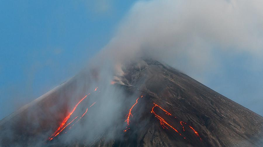 Ключевской вулкан