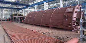 Уникальный котел для строительства утилизационной тепловой электростанции