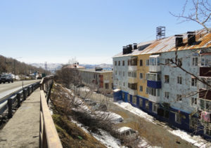 Жилые дома в Петропавловске-Камчатском