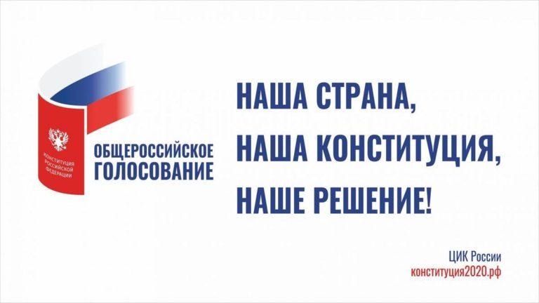 Камчатцы активно голосуют на придомовых территориях по вопросу поправок в Конституцию РФ