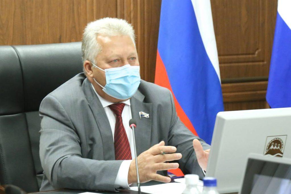 Валерий Раенко, председатель Законодательного Собрания Камчатского края