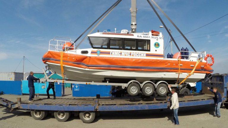 Новый катер поступил на вооружение регионального МЧС