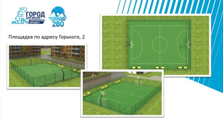 Три спортплощадки в рамках губернаторского проекта «Город для жизни» будут сданы уже в сентябре этого года
