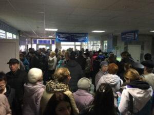 На Камчатке выстроились очереди в центр медицинской профилактики