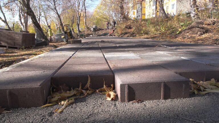 В Вилючинске обустроят аллею для пеших прогулок