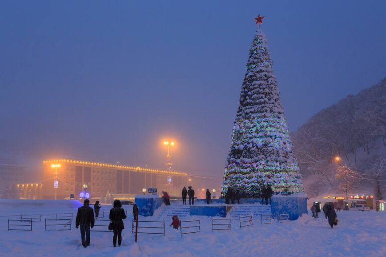 В краевой столице утверждён план новогодних мероприятий